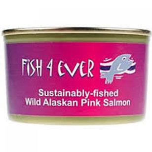 Fish 4 Ever Pink Salmon (Bones) 213g