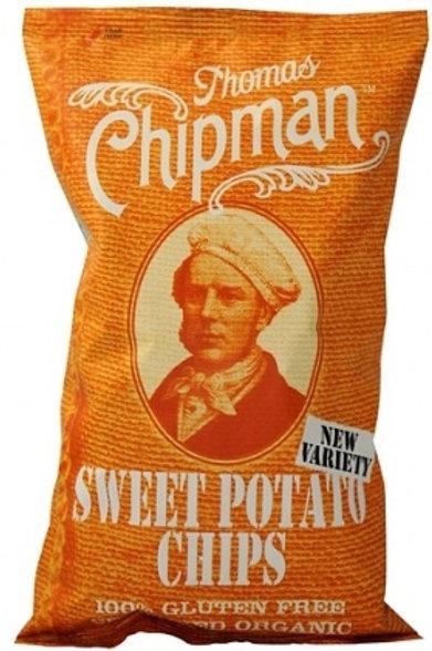 Thomas Chipman Org Sweet Potato Chips G/F 75g