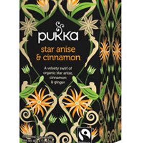 Pukka Tea Star Anise & Cinnamon