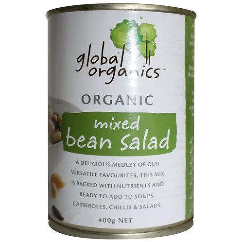 Global Organics (G/F) | Mixed Bean Salad | 400gm(ACO)