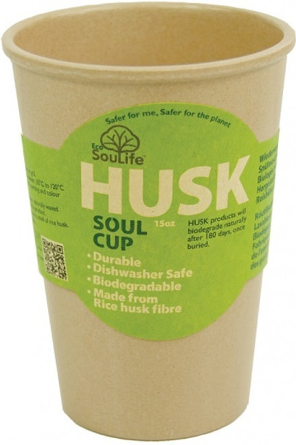 EcoSouLife Rice Husk Soul Cup Natural 443ml