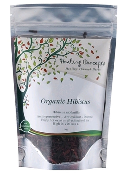 Healing Concepts Looseleaf Tea Hibiscus
