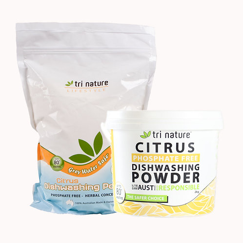Tri Nature Citrus Dishwashing Powder