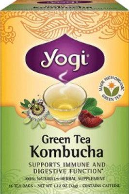 Yogi Tea Green Tea with Kombucha