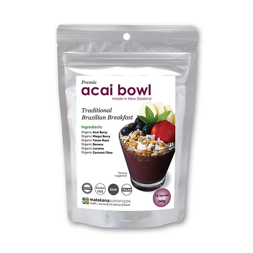 Matakana Superfoods Acai Bowl