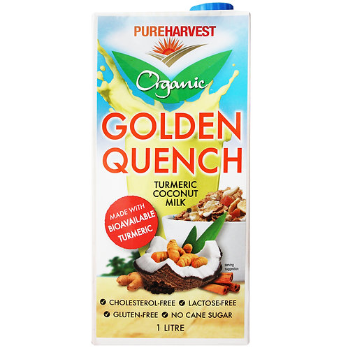 Pure Harvest (G/F) | Gold Quench Turmeric Coc Milk | 1lt(ACO) carton of 12