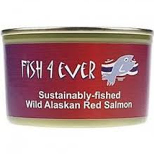 Fish 4 Ever Red Salmon 213g