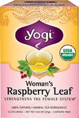Yogi Tea Raspberry Leaf