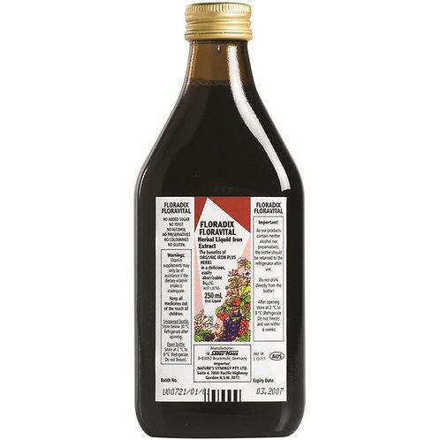 Floradix Floravital Herbal Liquid Iron