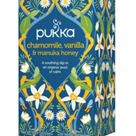Pukka Tea Chamomile, Vanilla & Manuka