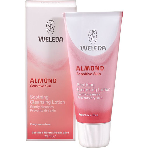 Weleda Almond Sensitive Soothing Cleansing Lotion 75ml