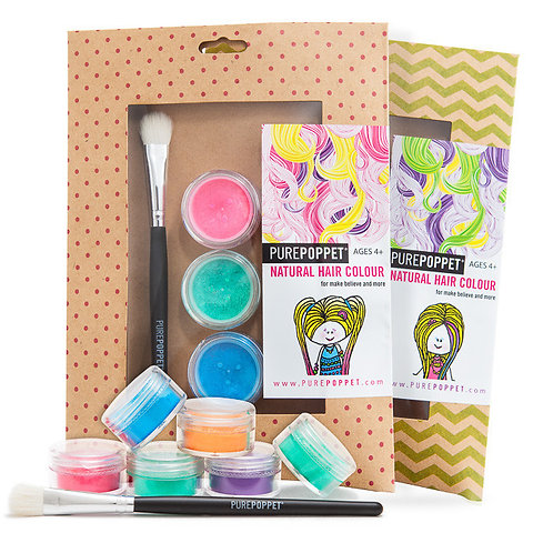 Pure Poppet Natural Hair Colour Packs