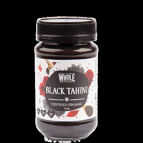 The whole foodies black tahini 375g