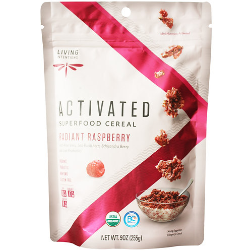 Raspberry Radiant Superfood cereal 255gm
