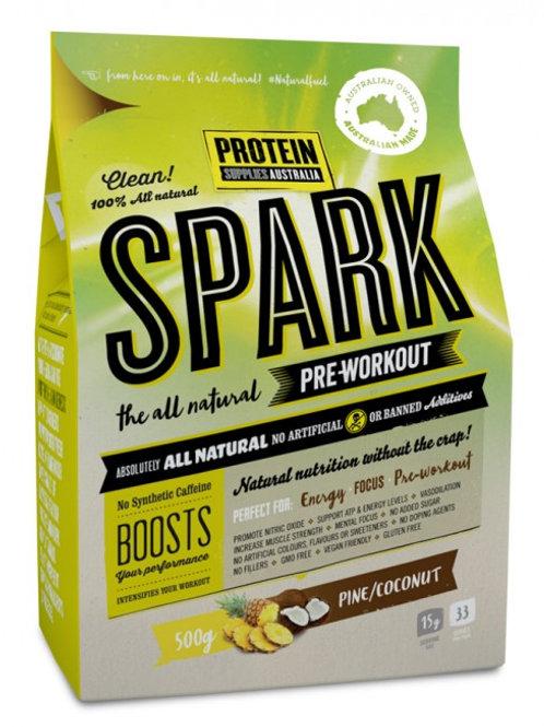 Protein Supplies Australia Spark (pre workout) 500g