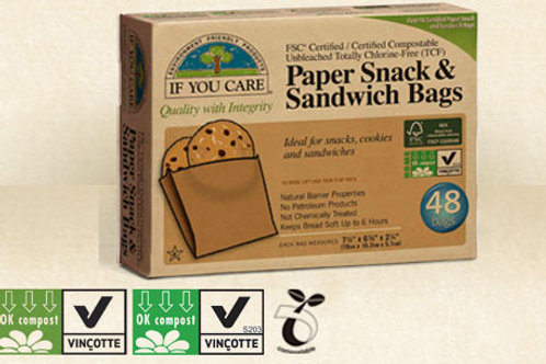 If You Care Sandwich Bags 48pcs