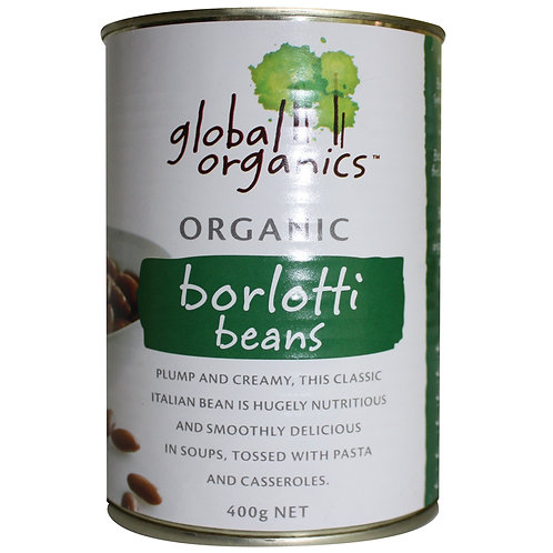 Borlotti beans 400gm can