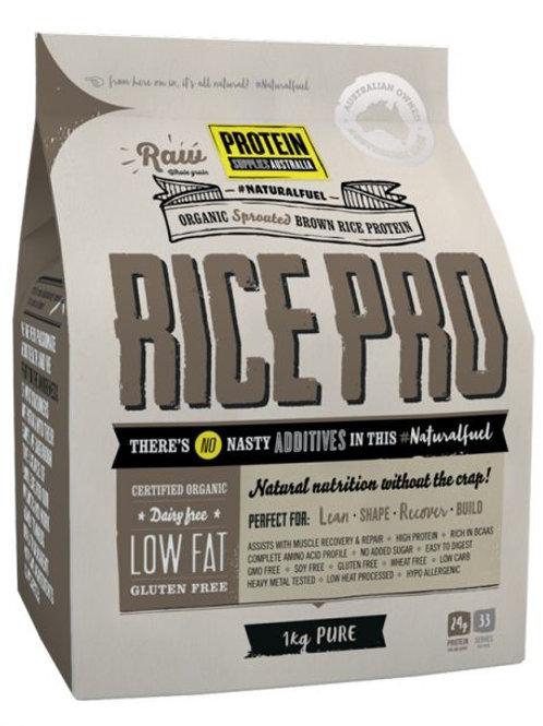 Protein Supplies Australia RicePro (Wholegrain Brown Rice) 1kg