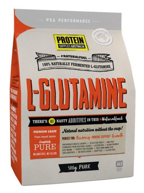 Protein Supplies Australia L-Glutamine 500g
