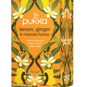 Pukka Tea Lemon Ginger & Manuka