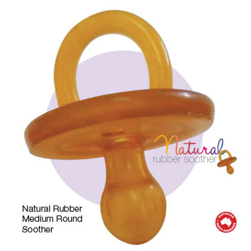 Natural Rubber Medium rounded 3-6 months