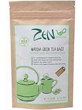 Zen green tea Matcha green tea bags 15 bags