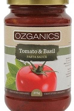 Ozganics Organic Tomato & Basil Pasta Sauce
