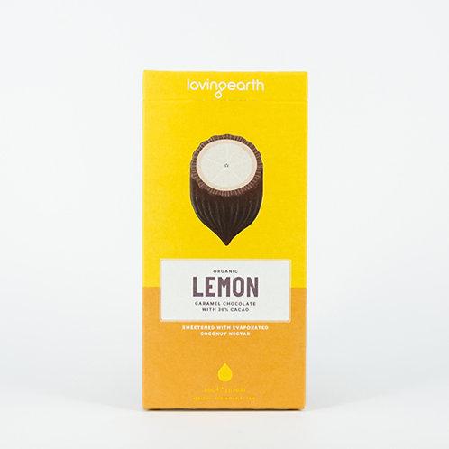 Loving Earth Lemon Carmel Chocolate