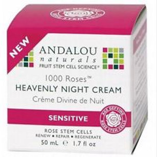 Andalou 1000 roses night cream 50ml