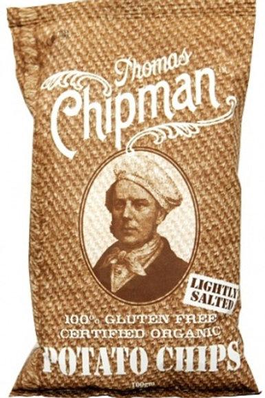 Thomas Chipman Org Lightly Salt Potato Chips 100g