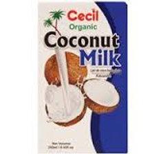 Cecil Coconut milk carton of 24