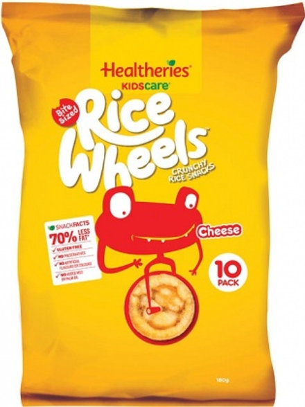 Healtheries Kidscare Rice Wheels 10k