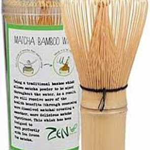 ZEN GREEN TEA Bamboo Whisk 1