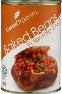 Ceres Organics Baked beans can 400g