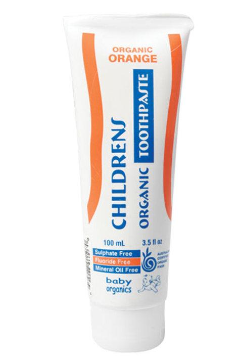 Baby Organics Children's Toothpaste Orange 100g