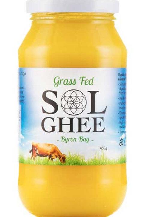 Sol Ghee Grass Fed