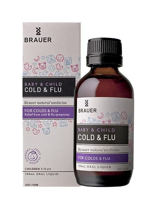 Brauer Baby & Child Cold & Flue 100ml