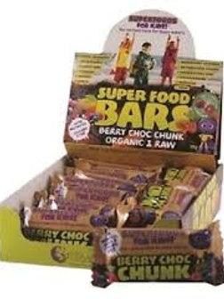 Nutra Organics Super food Kids bars 16 pack 30g