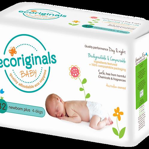 Ecoriginals Nappies Newborn 4-6kg Carton