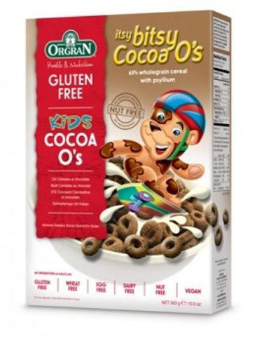 Orgran Itsy Bitsy Cocoa O's 300g