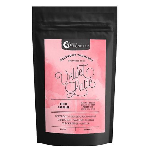 Nutra Organics Velvet Latte Beetroot & Tumeric 90g