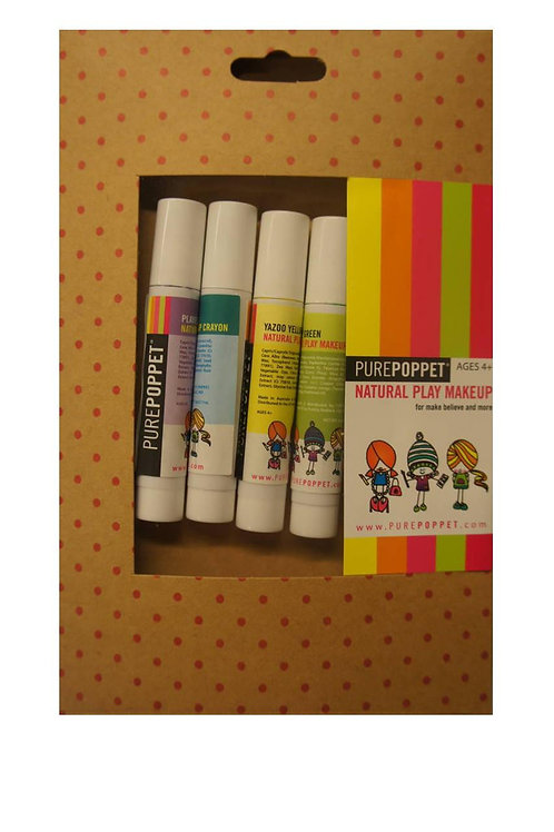 Pure Poppet Play Makeup Crayons 4 pack