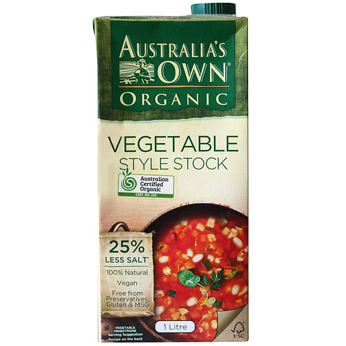 Vegetable Style Stock 1lt