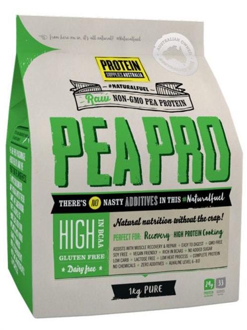 Protein Supplies Australia PeaPro (Raw Pea Protein) 1kg