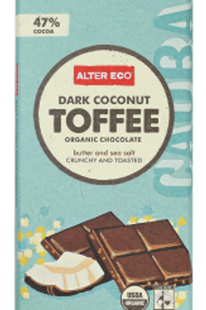 Alter Eco Dark Coconut Toffee