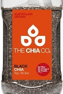 The Chia Co Chia Seed White / Black 1Kg