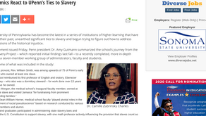 Academics React to UPenn's Ties to Slavery