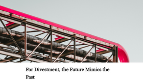 For Divestment, the Future Mimics the Past