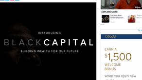 FORMER SACRAMENTO, CALIF. MAYOR KEVIN JOHNSON INTRODUCES BLACK CAPITAL INITIATIVE