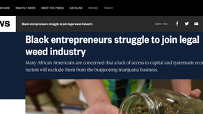 Black entrepreneurs struggle to join legal weed industry
